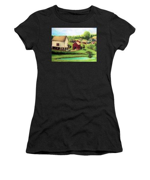 Farm Women's T-Shirt (Athletic Fit)