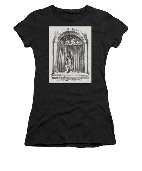 Fear's Overture Women's T-Shirt (Junior Cut) by Yvonne Wright