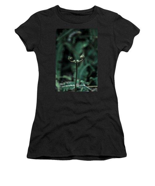 Fern Bud Women's T-Shirt (Athletic Fit)