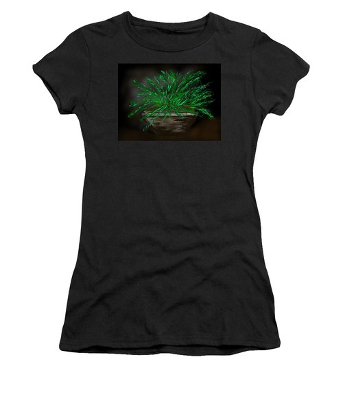 Fern Women's T-Shirt (Junior Cut) by Christine Fournier