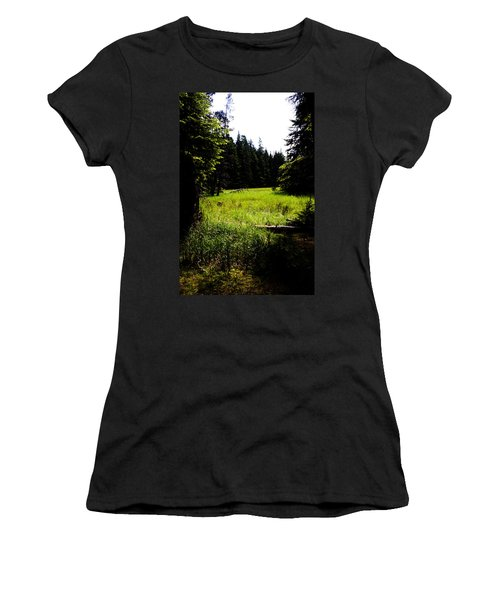 Field Of Possibilities Women's T-Shirt (Athletic Fit)