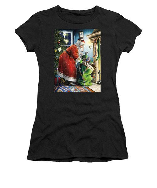 Filling The Stockings Women's T-Shirt