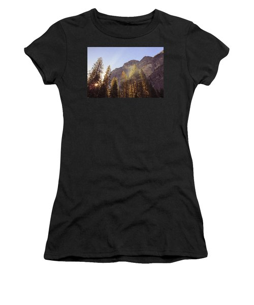Morning Skies Of Yosemite Women's T-Shirt