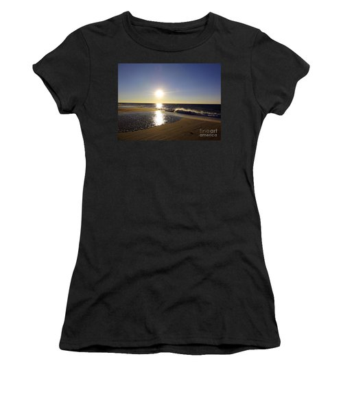 Fire Island Sunday Morning - 13 Women's T-Shirt (Athletic Fit)