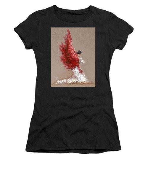 Fire Women's T-Shirt (Athletic Fit)