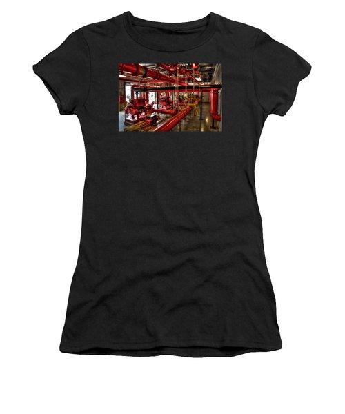 Fire Pumps Women's T-Shirt