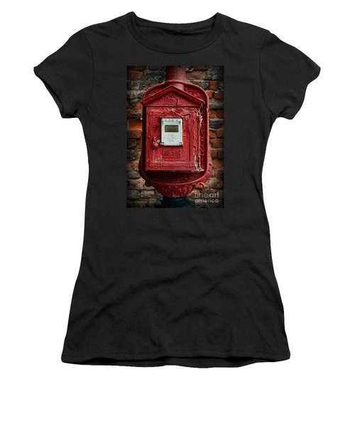 Fireman - The Fire Alarm Box Women's T-Shirt (Athletic Fit)