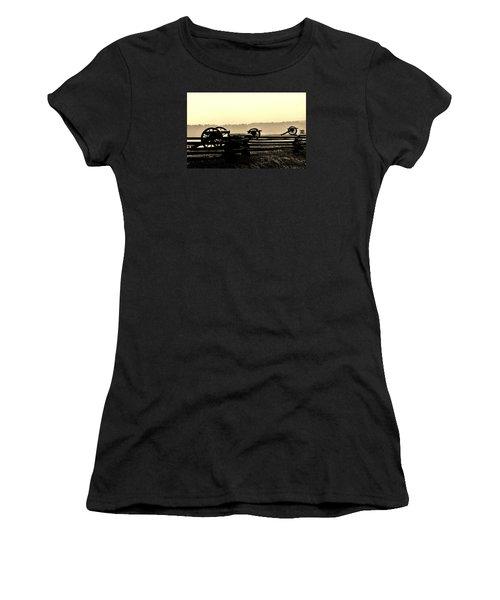 Firing Line Women's T-Shirt (Athletic Fit)