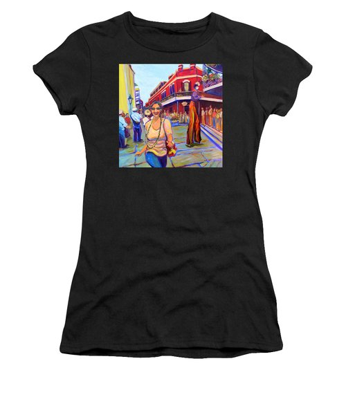 First Trip To New Orleans Women's T-Shirt (Athletic Fit)