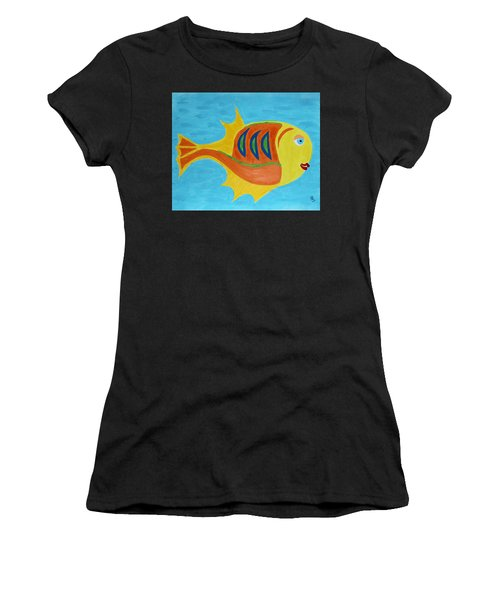 Fishie Women's T-Shirt (Athletic Fit)