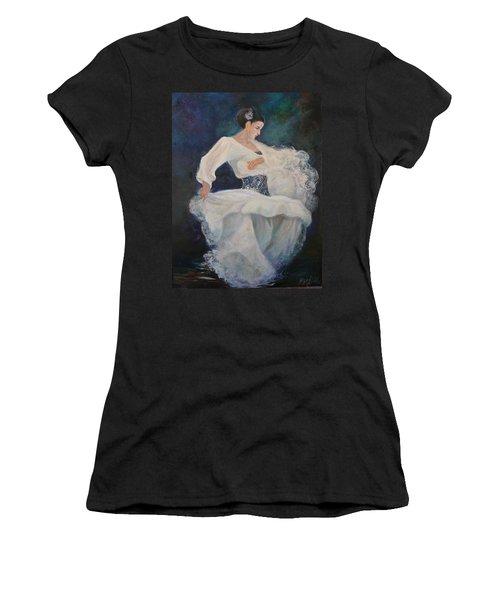 Flamenco 2 Women's T-Shirt (Athletic Fit)