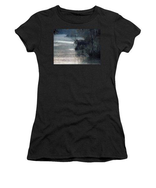 Women's T-Shirt (Junior Cut) featuring the photograph Flint River 28 by Kim Pate