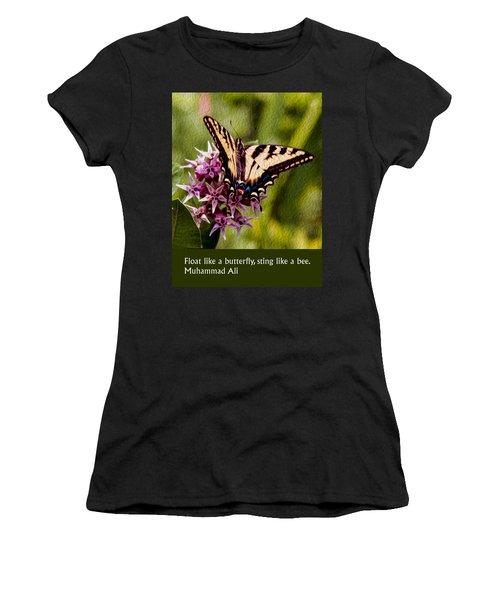 Float Like A Butterfly Women's T-Shirt