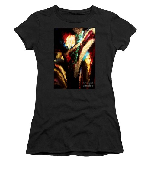 Floral Abstract I Women's T-Shirt (Junior Cut) by Sharon Elliott