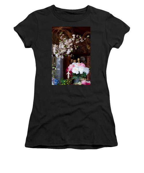Floral Display Women's T-Shirt (Athletic Fit)