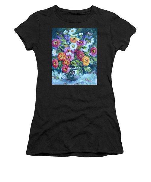 Floral Explosion No. 2 Women's T-Shirt