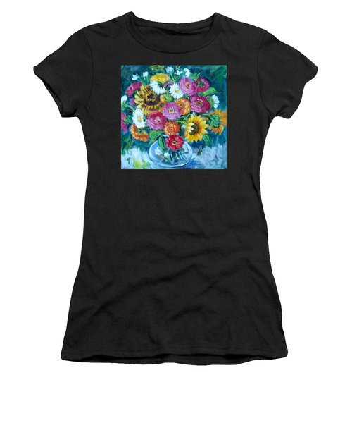 Floral Explosion No.1 Women's T-Shirt