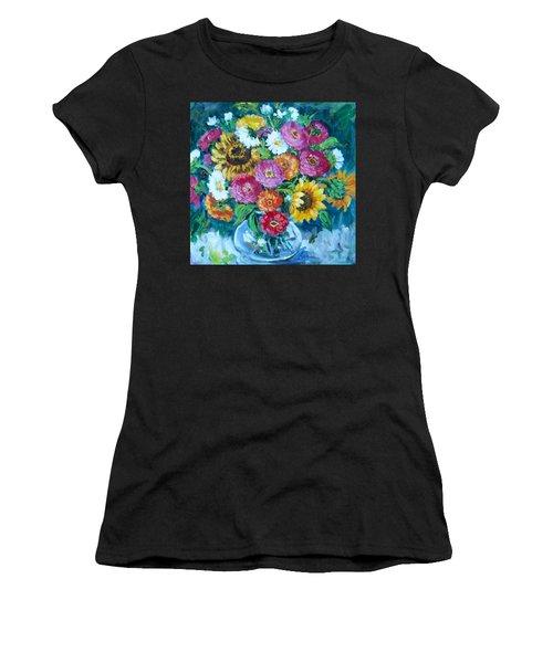 Floral Explosion No.1 Women's T-Shirt