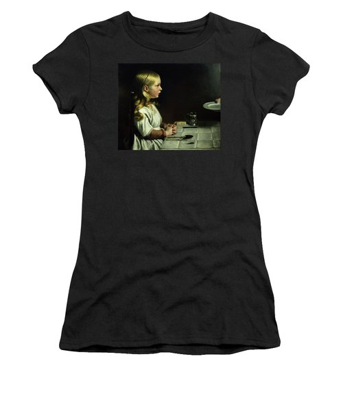 Florence Cope Saying Grace At Dinnertime Women's T-Shirt