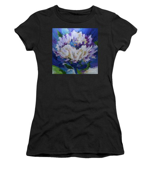 Flower For A Friend Women's T-Shirt (Athletic Fit)
