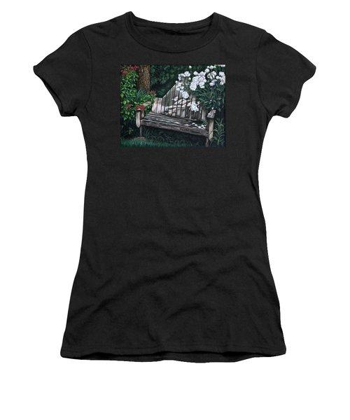 Flower Garden Seat Women's T-Shirt