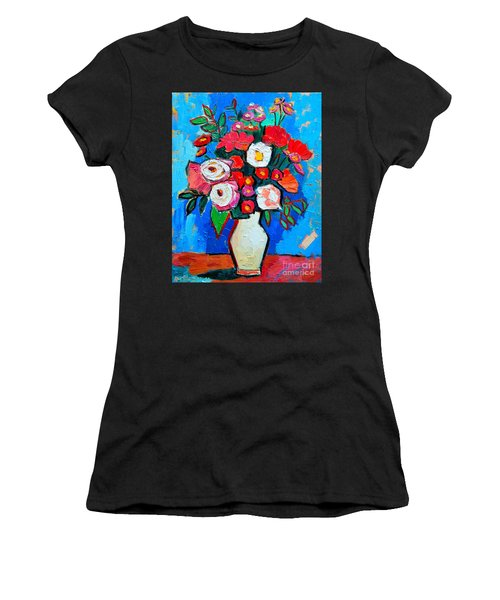 Flowers And Colors Women's T-Shirt