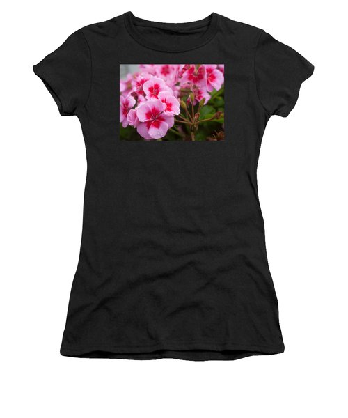 Flowers On A Rainy Sunday Afternoon Women's T-Shirt