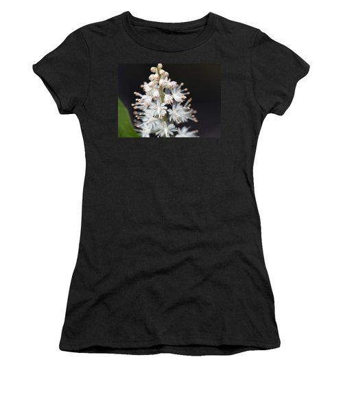 Foam Flower Women's T-Shirt (Junior Cut) by Melinda Fawver