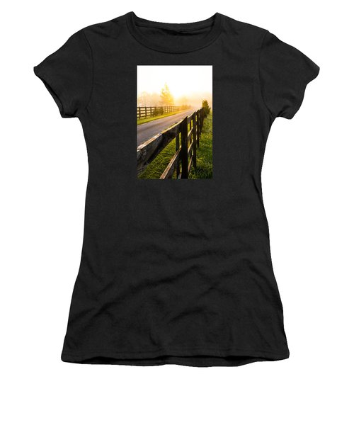Foggy Morning Women's T-Shirt (Junior Cut) by Shelby  Young