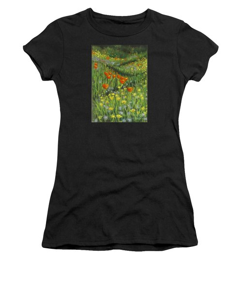 Poppy Trail Women's T-Shirt (Athletic Fit)