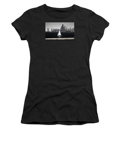 Women's T-Shirt (Junior Cut) featuring the photograph Follow Your Dream by Milena Ilieva