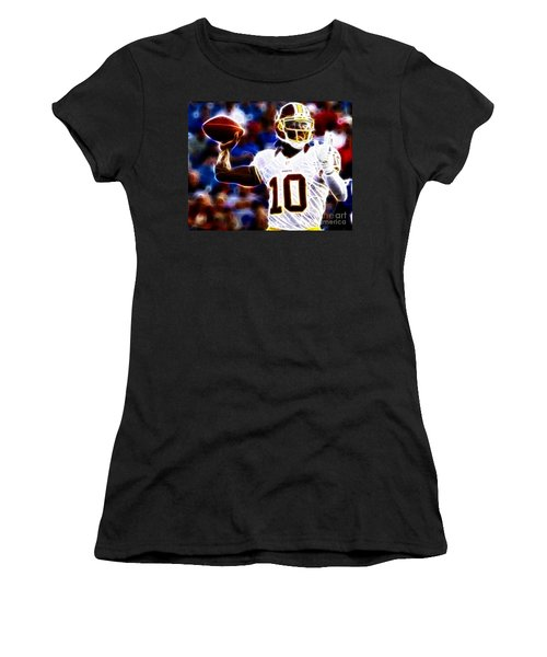 Football - Rg3 - Robert Griffin IIi Women's T-Shirt (Junior Cut) by Paul Ward