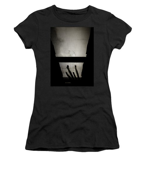 Footsteps And Faces Women's T-Shirt