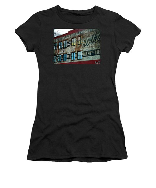 Fords Restaurant In Greenville Sc Women's T-Shirt (Athletic Fit)