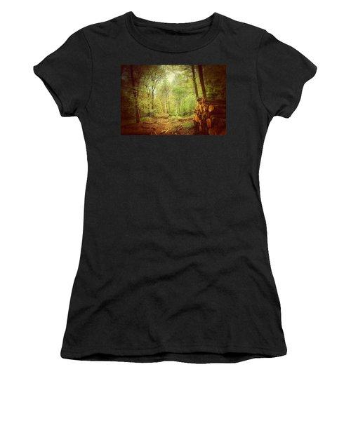 Forest Women's T-Shirt (Junior Cut) by Daniel Precht