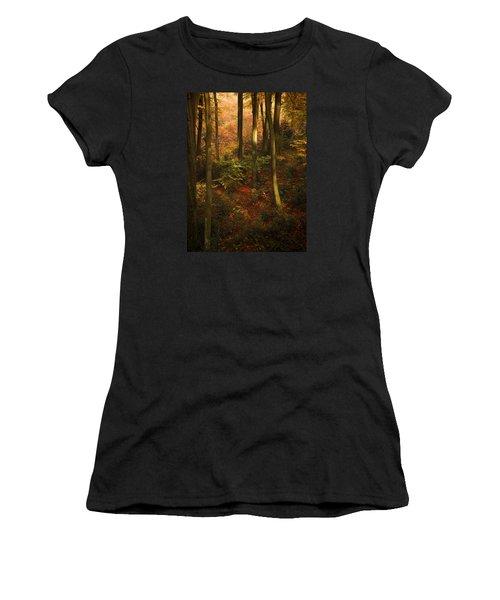 Forest Deep No. 2 Women's T-Shirt (Junior Cut) by Richard Cummings
