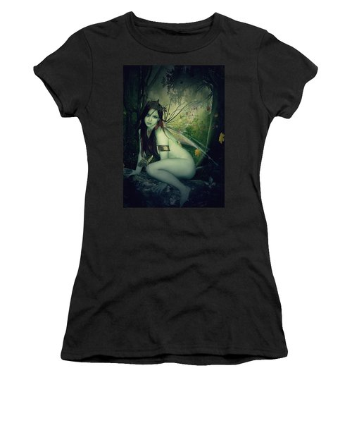 Forest Fairy Women's T-Shirt (Athletic Fit)
