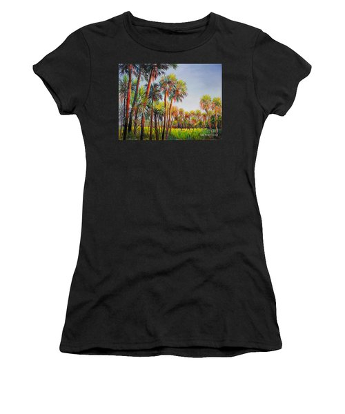 Forest Of Palms Women's T-Shirt (Athletic Fit)