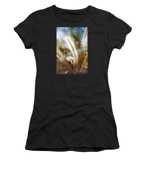 Fountain Grass Women's T-Shirt (Athletic Fit)