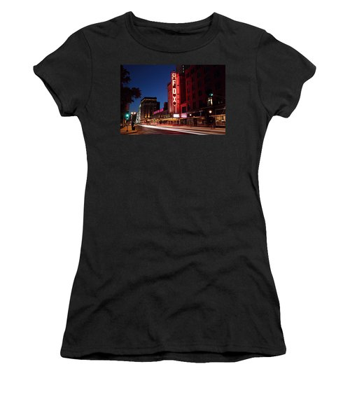 Fox Theater Twilight Women's T-Shirt (Athletic Fit)