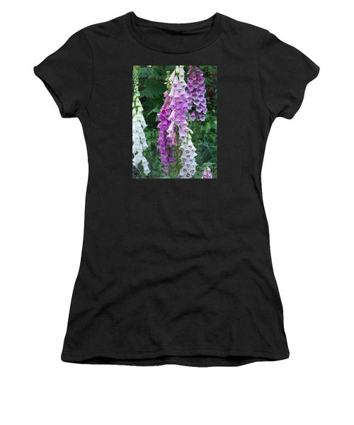 Foxglove After The Rains Women's T-Shirt (Athletic Fit)