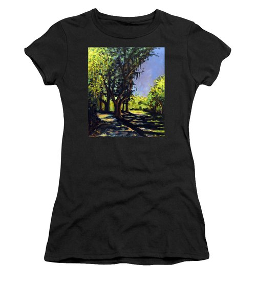 Foxgrapes And A Sandy Road Women's T-Shirt (Athletic Fit)