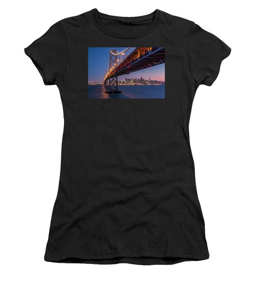 Framing San Francisco Women's T-Shirt (Athletic Fit)