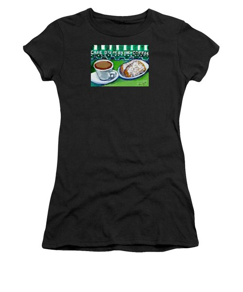 French Quarter Delight Women's T-Shirt (Athletic Fit)