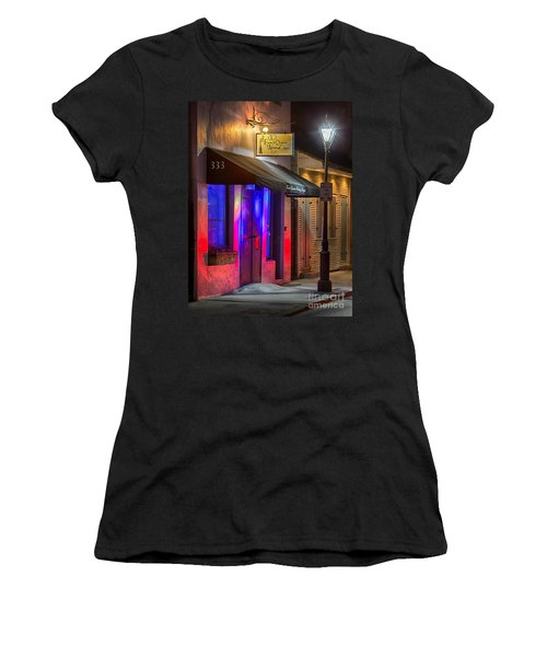 French Quarter Wedding Chapel Women's T-Shirt (Junior Cut) by Jerry Fornarotto