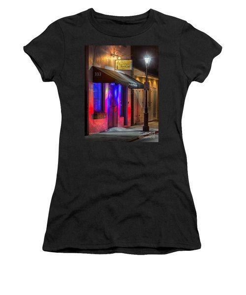 French Quarter Wedding Chapel Women's T-Shirt (Athletic Fit)