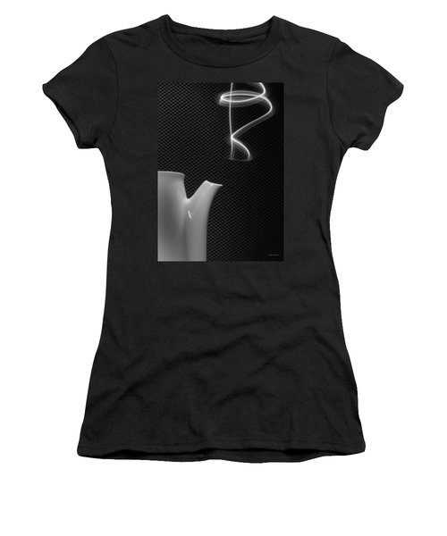 Fresh Pot Of Coffee- Light Painting Women's T-Shirt (Athletic Fit)