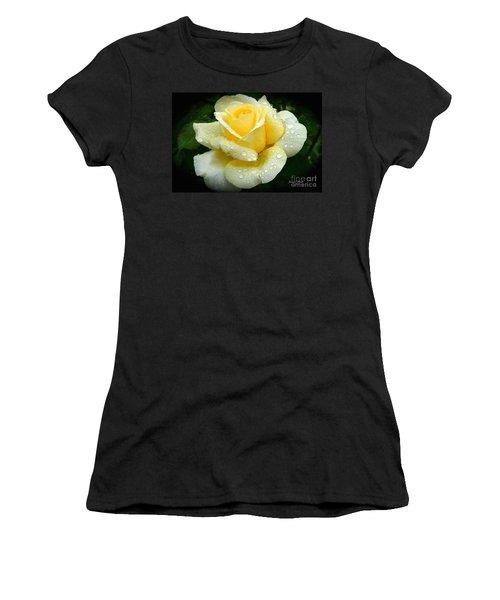 Fresh Sunshine Daydream Rose Women's T-Shirt (Athletic Fit)
