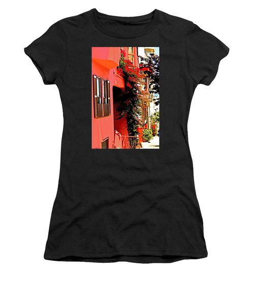 Frisco Street Flowers Women's T-Shirt