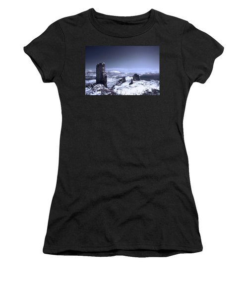 Frozen Landscape Women's T-Shirt (Athletic Fit)